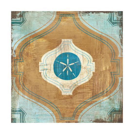 Bohemian Sea Tiles VII-Cleonique Hilsaca-Art Print