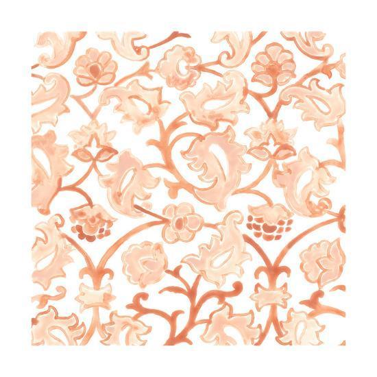 Bohemian Textile III-June Vess-Art Print
