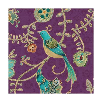 Bohemian Wings VI Aubergine-Daphne Brissonnet-Art Print