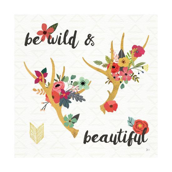 Boho Beauty I-Jess Aiken-Art Print