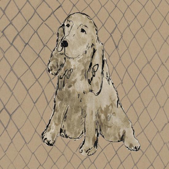 Boho Dogs II-Clare Ormerod-Art Print
