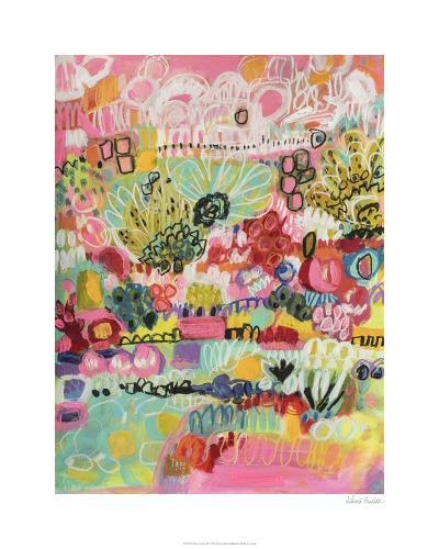 Boho Garden III-Karen  Fields-Limited Edition