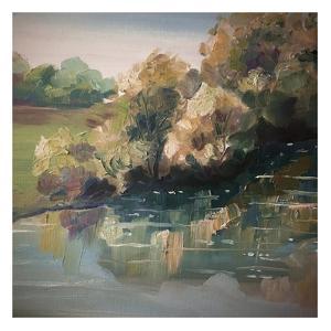 Autumn River by Boho Hue Studio
