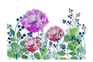 Floral field by Boho Hue Studio