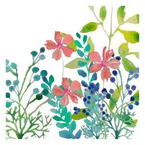 Flowers Square by Boho Hue Studio