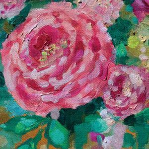 Peripheral Rose 2 by Boho Hue Studio