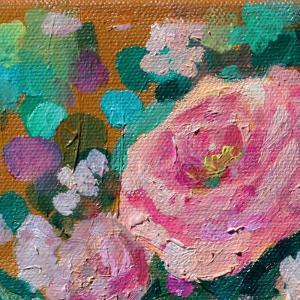 Peripheral Rose 3 by Boho Hue Studio