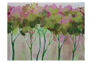 Periwinkle Trees by Boho Hue Studio