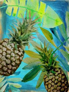 Pineapple Party 1 by Boho Hue Studio