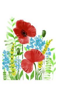 Wild Flowers by Boho Hue Studio