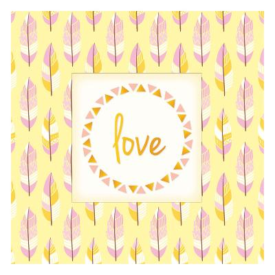 Boho Love-Kimberly Allen-Art Print