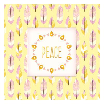 Boho Peace-Kimberly Allen-Art Print
