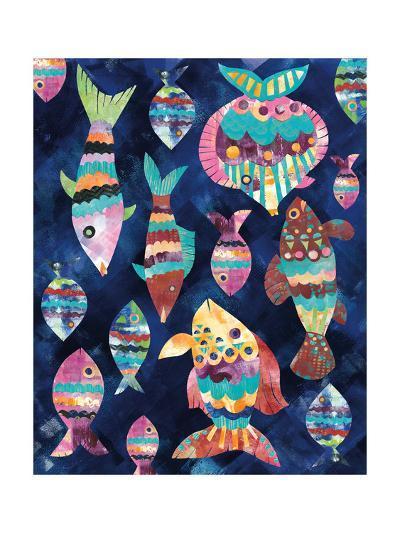 Boho Reef VIII-Wild Apple Portfolio-Art Print