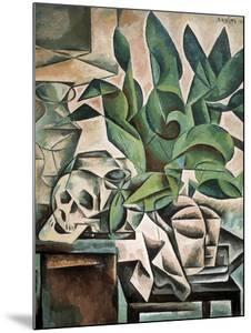 Still Life with Skull by Bohumil Kubista