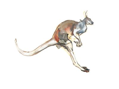 Boing, (Red Kangaroo), 2012-Mark Adlington-Giclee Print