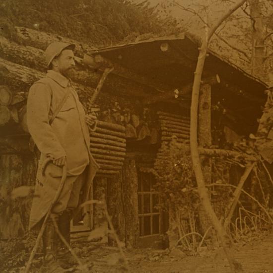 Bois d'Haumont, northern France, c1914-c1918-Unknown-Photographic Print