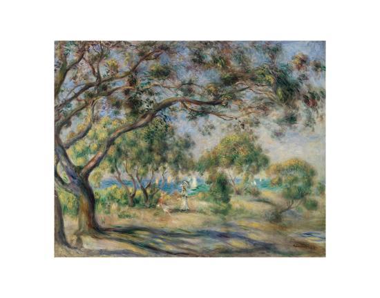 Bois De La Chaise Noirmoutier 1892 Art Print By Pierre Auguste Renoir