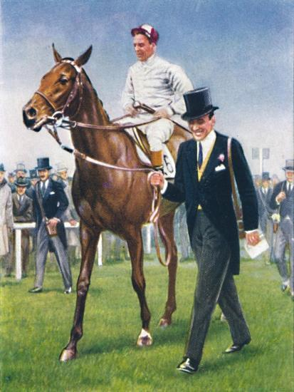 Bois Roussel, Jockey: E. C. Elliott', 1939-Unknown-Giclee Print