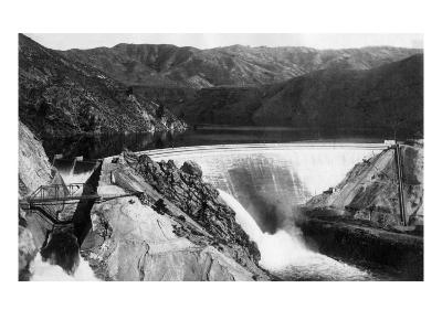 Boise, Idaho - Arrowrock Dam-Lantern Press-Art Print