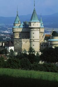 Bojnice Castle (19th-20th Century), Neo-Gothic Style, Slovakia