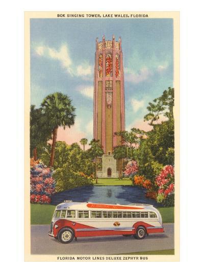 Bok Singing Tower, Lake Wales, Florida--Art Print