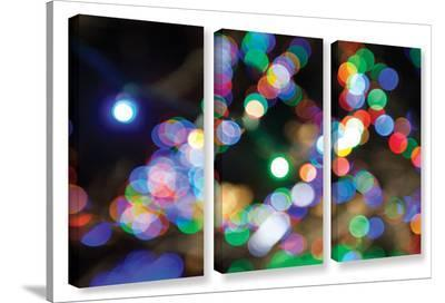 Bokeh 2, 3 Piece Gallery-Wrapped Canvas Set-Cody York-Gallery Wrapped Canvas Set