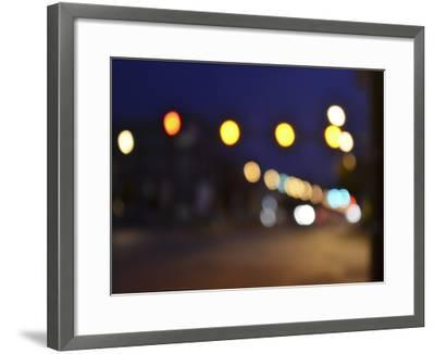 Bokeh Abstract II-Sharon Chandler-Framed Art Print