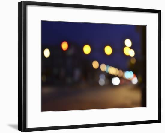 Bokeh Abstract II-Sharon Chandler-Framed Art Print