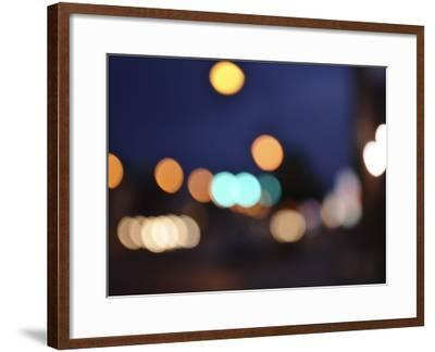 Bokeh Abstract VII-Sharon Chandler-Framed Art Print