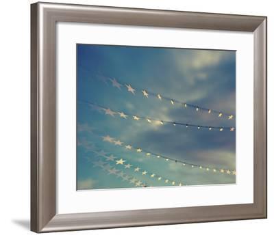 Bokeh Stars I-Sonja Quintero-Framed Art Print