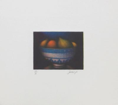 Bol de fruits-Laurent Schkolnyk-Collectable Print