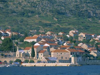 Bol Village, Brac Island, Dalmatia, Dalmatian Coast, Adriatic, Croatia, Europe-J P De Manne-Photographic Print