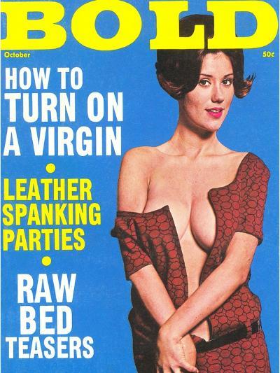 Bold, Lurid Magazine Cover with Cheesecake--Art Print