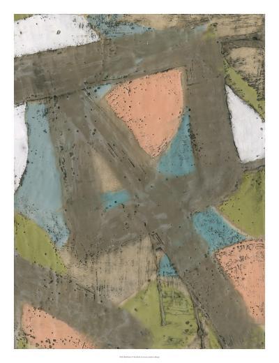 Bold Pastels I-Jennifer Goldberger-Premium Giclee Print