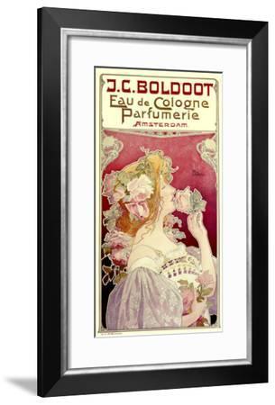 Boldoot Cologne Perfume--Framed Giclee Print