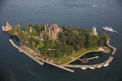 Boldt Castle On Heart Island in the Thousand Islands-Will Van Overbeek-Photographic Print