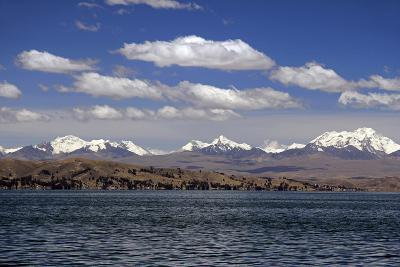 Bolivia, Lake Titicaca, Scenic Mountains-Kymri Wilt-Photographic Print
