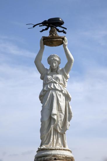 Boll Weevil Monument In Downtown Enterprise, Alabama-Carol Highsmith-Art Print