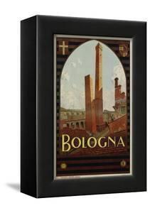 Bologna Travel Poster