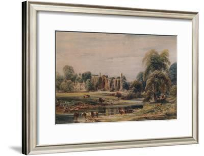 'Bolton Abbey and Rectory', 1846, (1935)-Peter de Wint-Framed Giclee Print