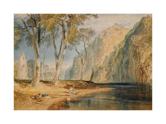 Bolton Abbey, C.1825-J^ M^ W^ Turner-Giclee Print