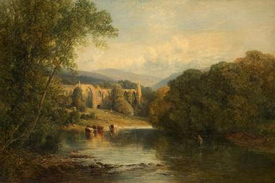 Bolton Abbey, North Yorkshire, 1858-Frederick William Hulme-Giclee Print