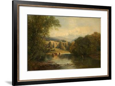 Bolton Abbey, North Yorkshire, 1858-Frederick William Hulme-Framed Giclee Print