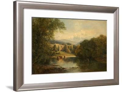 Bolton Abbey, North Yorkshire, 1858-Frederick William Hulme-Framed Giclee Print