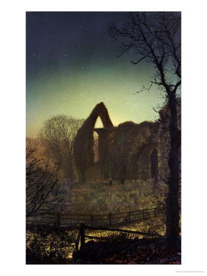 Bolton Abbey-John Atkinson Grimshaw-Giclee Print