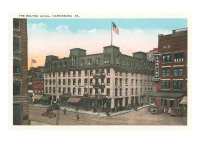 Bolton Hotel, Harrisburg, Pennsylvania--Art Print