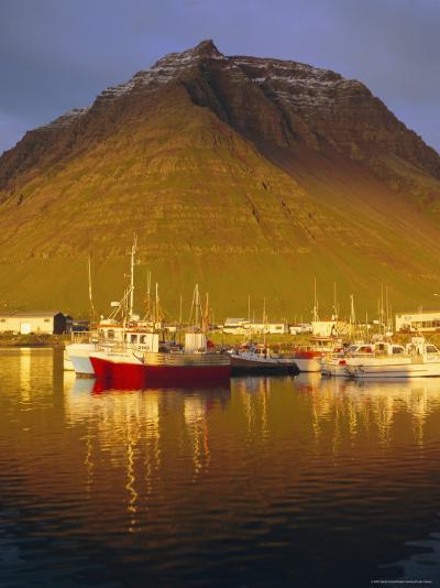 Bolungavik, North West Iceland-David Lomax-Photographic Print