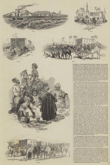 Bombay to London Within 60 Days--Giclee Print