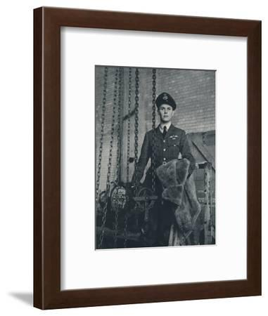 'Bomber Captain', 1941-Cecil Beaton-Framed Photographic Print
