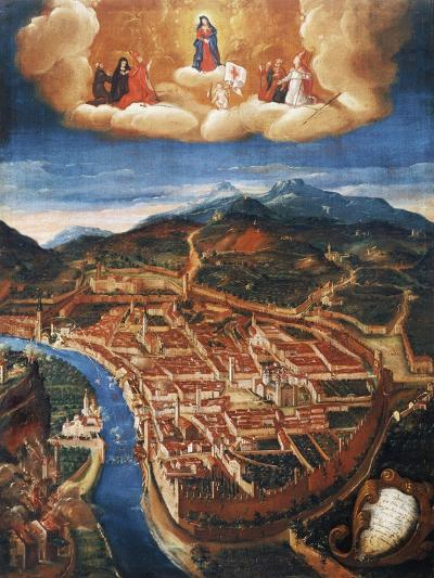 Bombing of Trent in 1703--Giclee Print